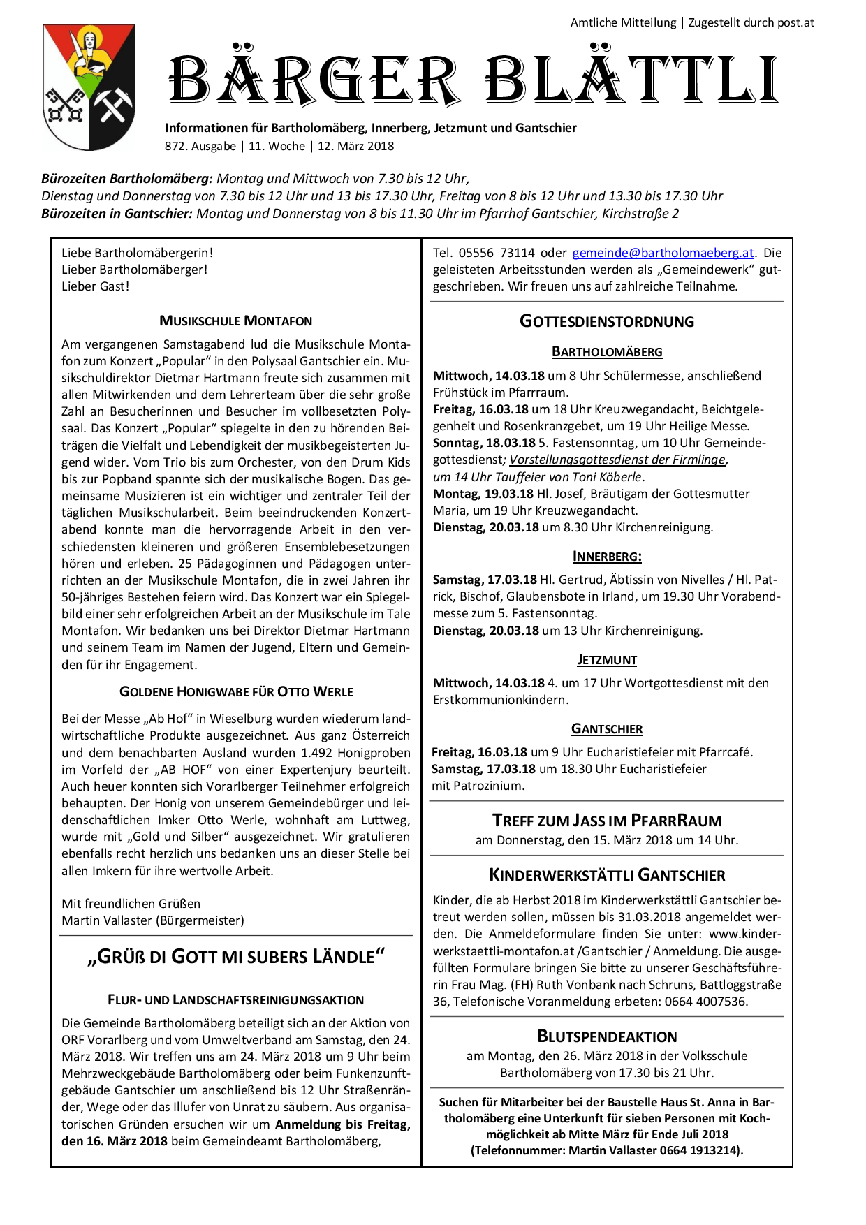 Seniorenbund ldt zum Landestreffen - Bartholomberg | VOL